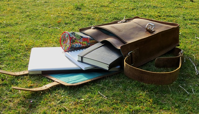 Lehrertasche aus Leder